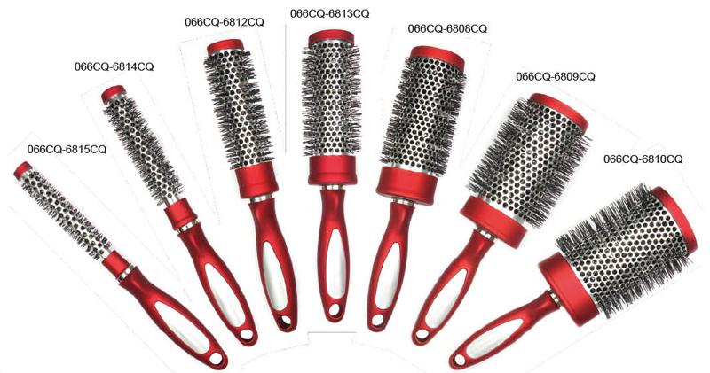 Professional Aluminium Hairbrush for Salon (066)