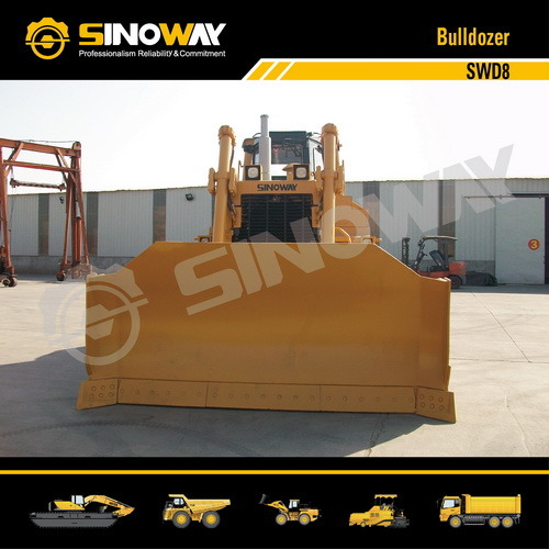 Sinoway Bulldozer Swd8 with 320HP Cummins Engine