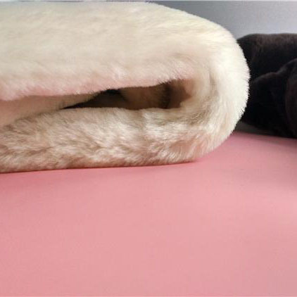 Real Australian Sheepskin Moccasin Lining Long Wool Shoe Lining