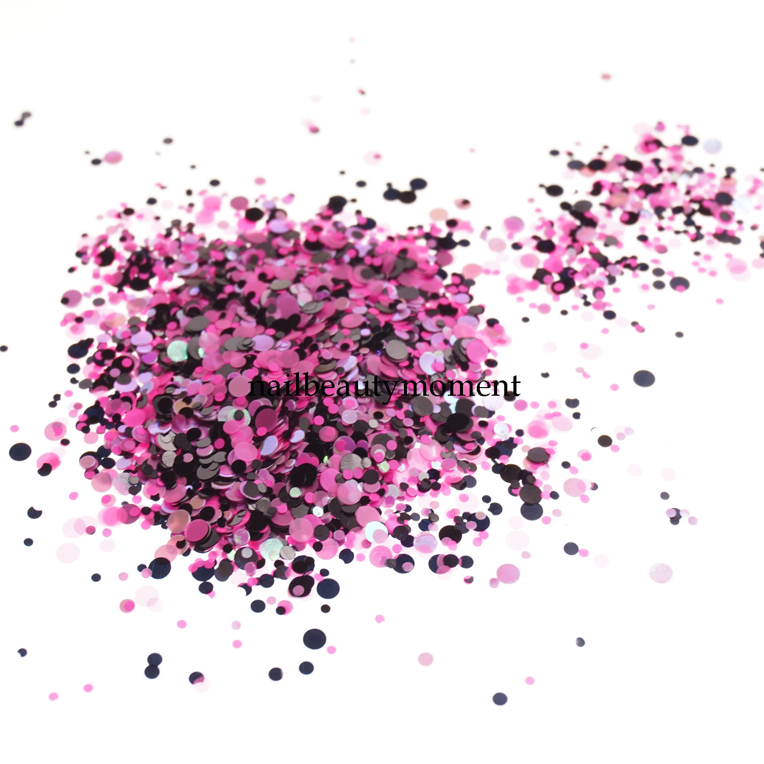 Art Nail Beauty Sparkle Glitter Mix Colors Decoration (D91)