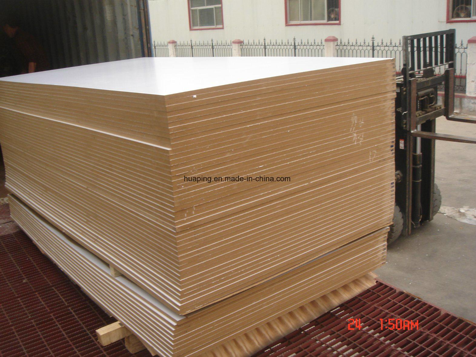 White and Beige MDF /Kuwait Market Melamine MDF