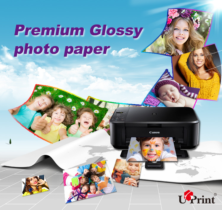 Factory Wholesale Double Sides Glossy Waterproof Printing Paper