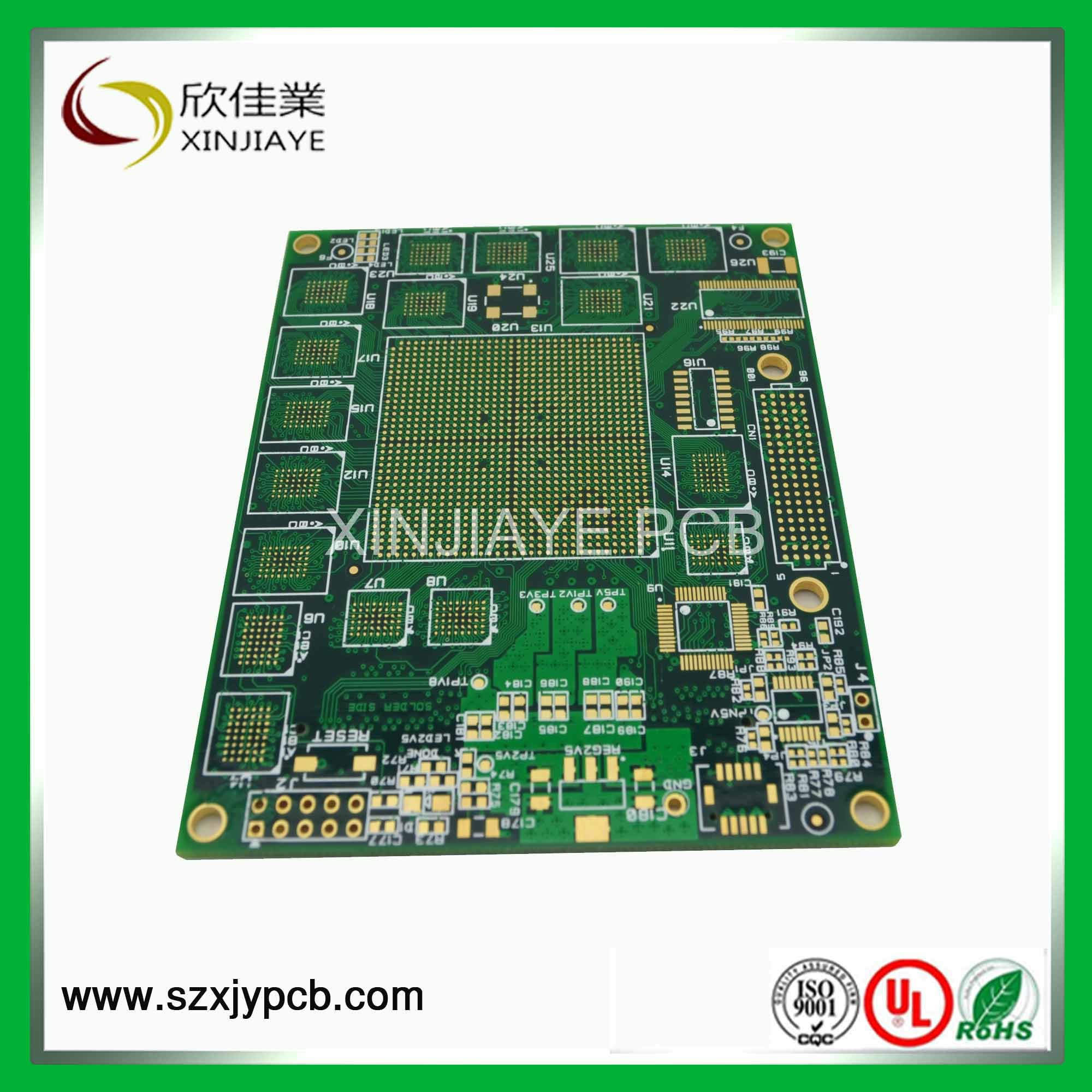 Immersion Gold PCB for GPS Tracking Module (XJY-OEM)