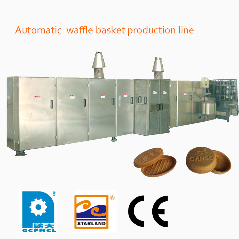 Automatic Waffle Basket Production Line