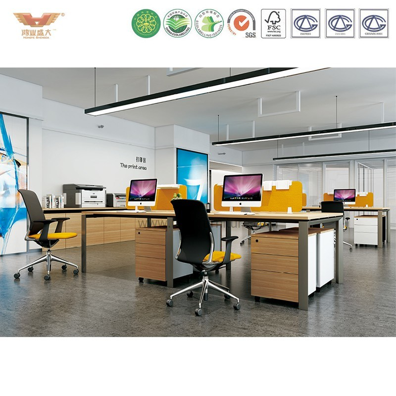 Hongye Office Workstation Solution for Modern Office Project Customization
