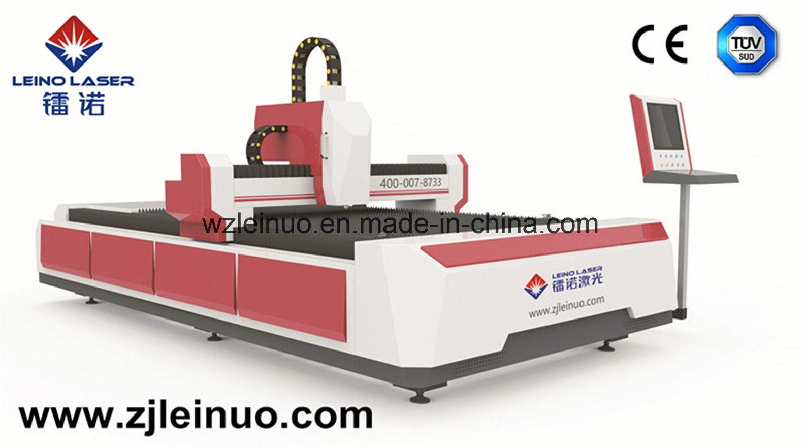 500W CNC Open-Type Fiber Laser Cutting Machine for Metal