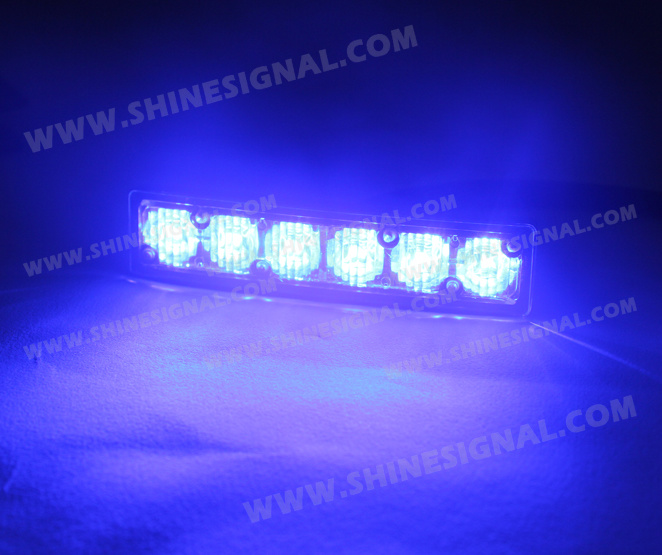 LED Police Curved Exterior Aluminium House Waterproof Lighting