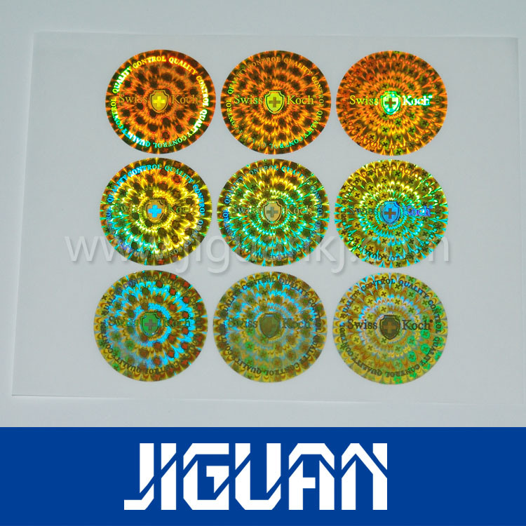 Custom Silver Laser Anti-Counterfeiting Hologram Label