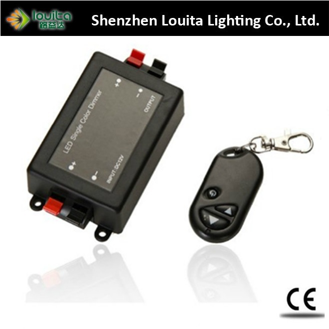 RF 3 Key LED Dimmer with Plastic Material WiFi Control