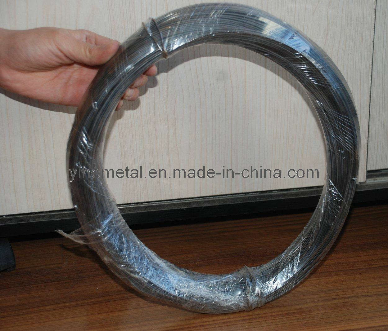 Black iron wire with oil china annealed