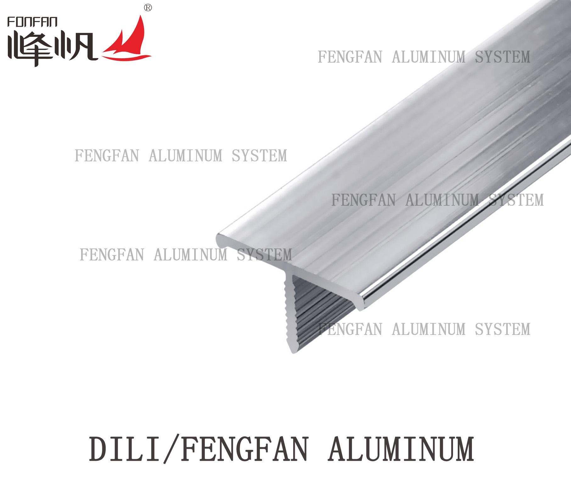 Silver T Shape Profile