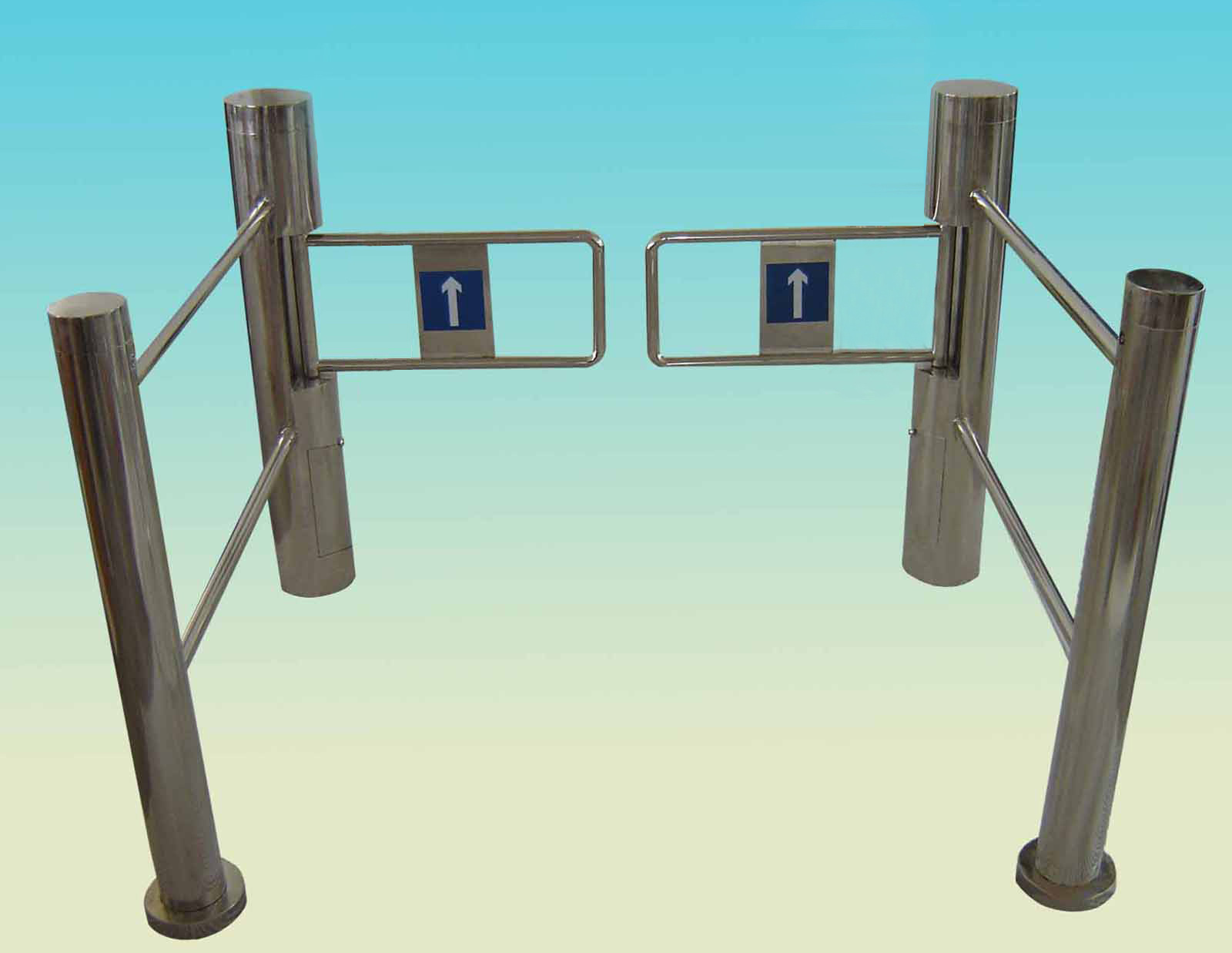 Variety of Card Readers Swing Barrier Gate