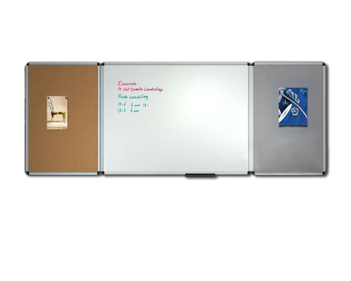 Multi-Function Folded White Boards