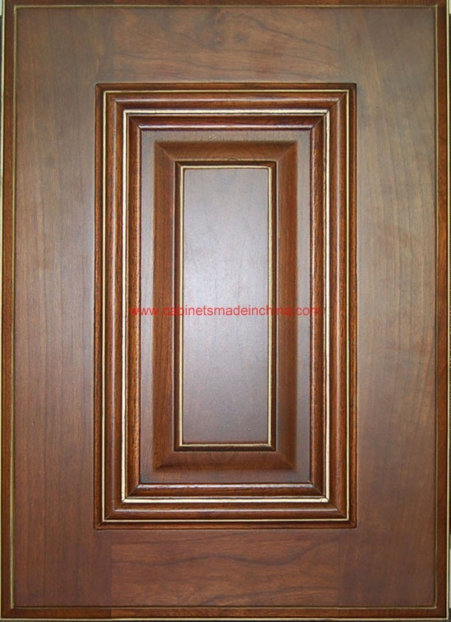 China Solid Wood Door Panel Rc1002 China Wood Kitchen