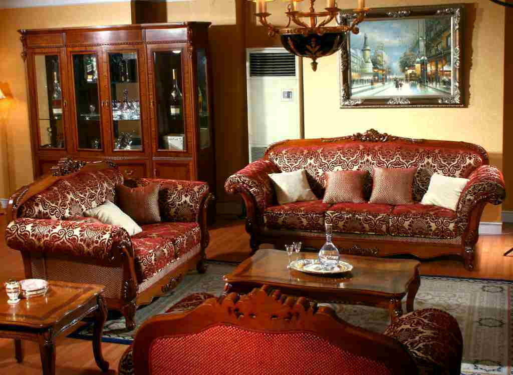Chinese living room furniture for Oriental furniture living room