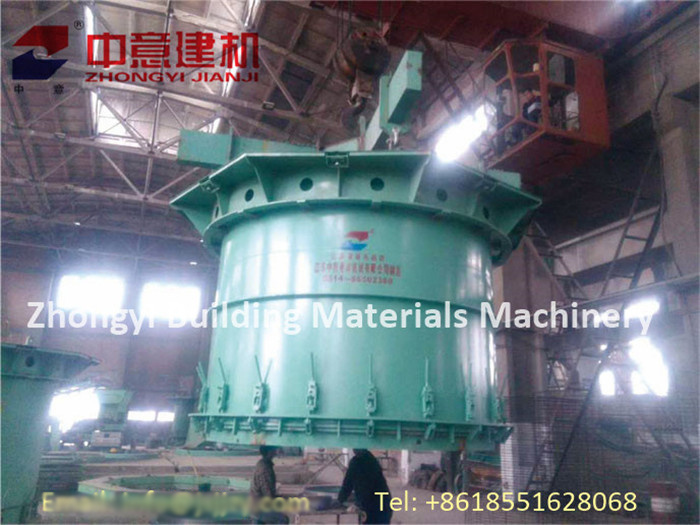 Vertical Vibration Casting Reforced Concrete Pipe Making Machine for Drain Pipe Production