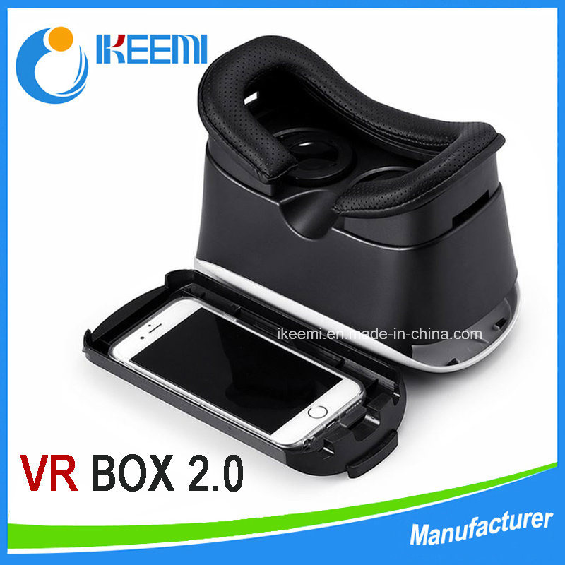 Factory Supply 3D Head Mount Vr Box 2ND Generation Virtual Reality Vr Glasses & Bluetooth Remote Control