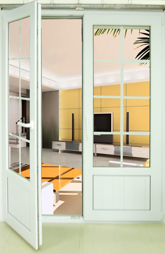 Triple french doors exterior for French pvc doors