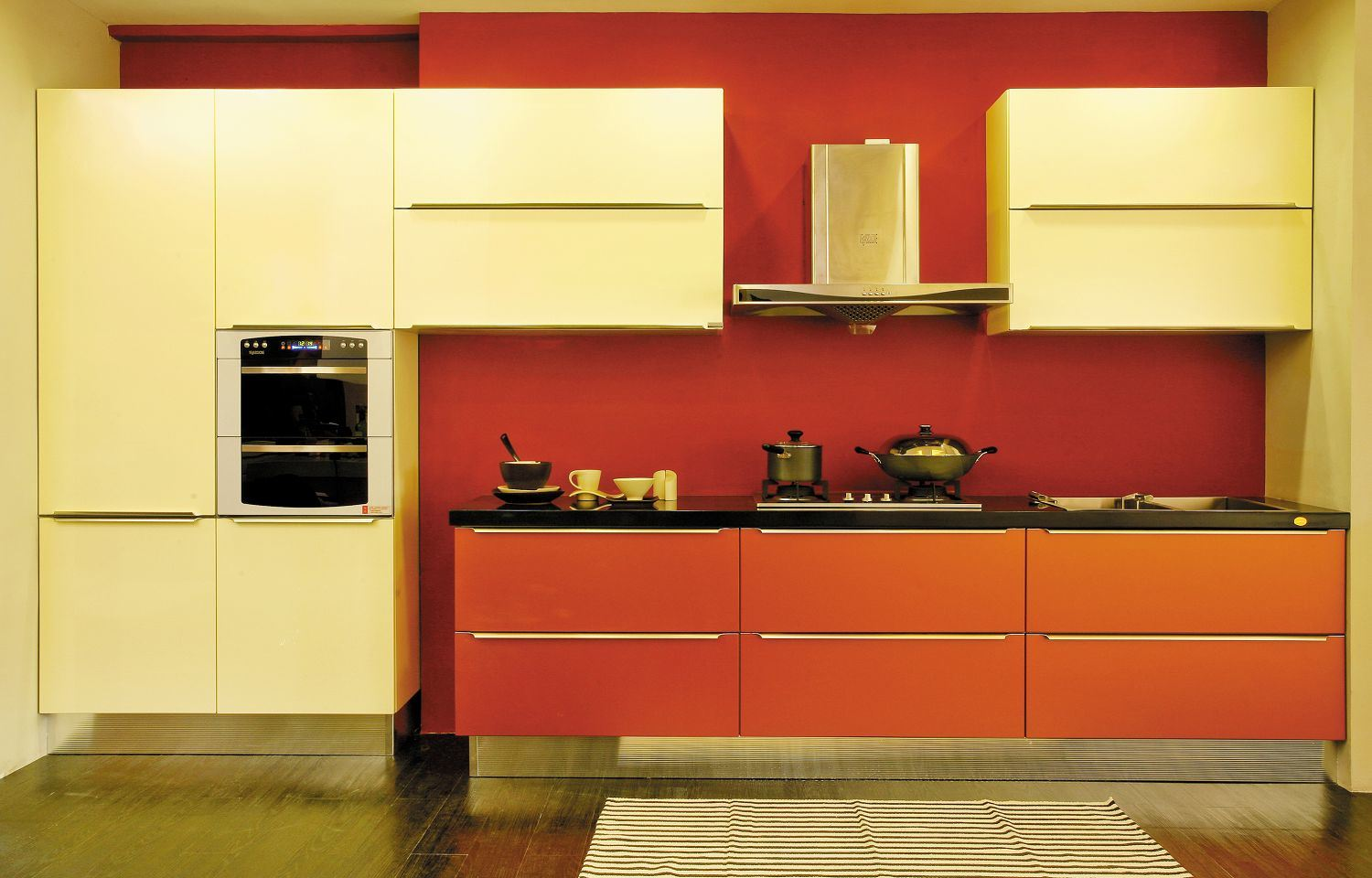 Kitchen Cabinet E001  China kitchen cabinet, European style kitchen