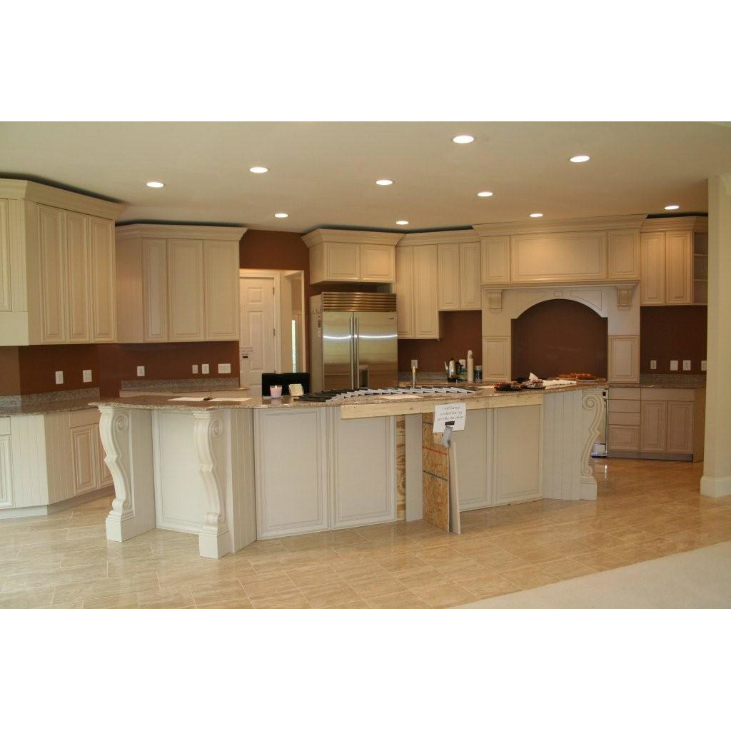 Solid Wood Kitchen: China North American Maple Solid Wood Kitchen Cabinet