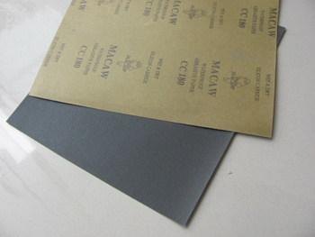 Sic Abrasive Waterproof Paper for Abrasives