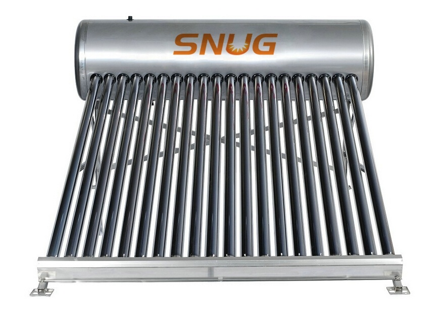 Solar Water Heater System, Stainless Steel