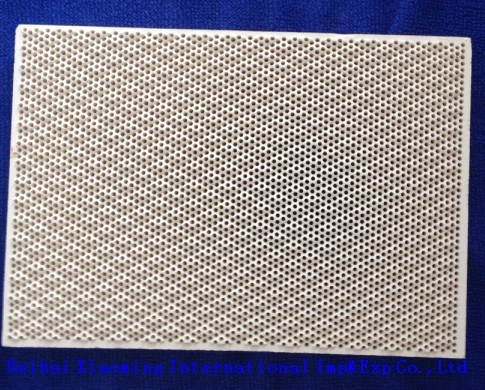 Cordierite Honeycomb Ceramic Plate Used for Burners of Heat Storage
