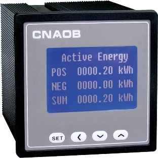 LCD Multifunctional Power Instruments Power Analyser
