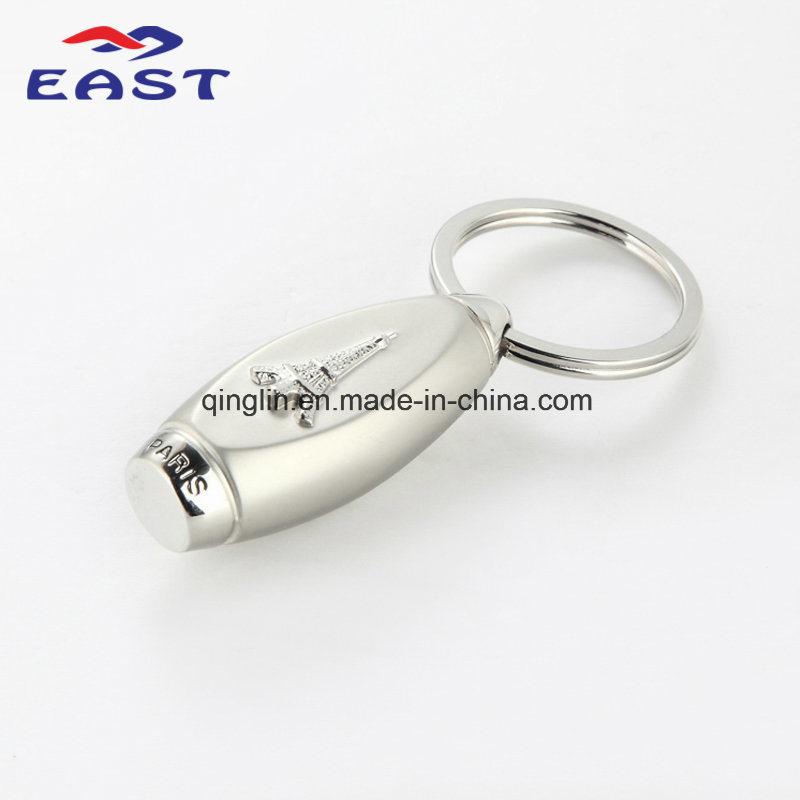 Promotion Gifts Tower Embossment Zinc Alloy Key Holder