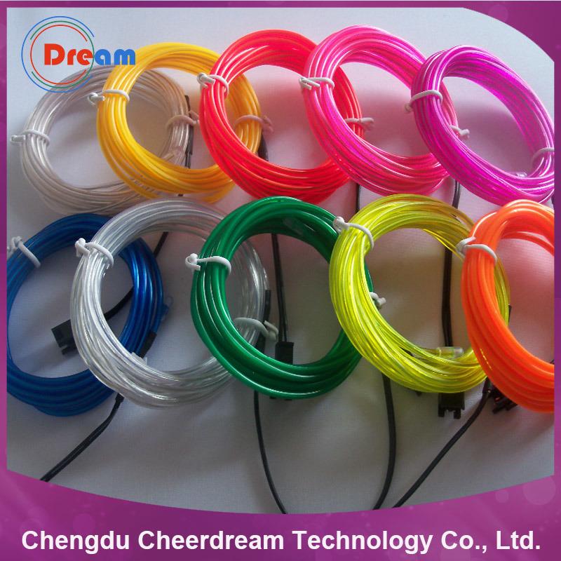 Bright Decorative Waterproof LED Christmas Light RGB EL Wire