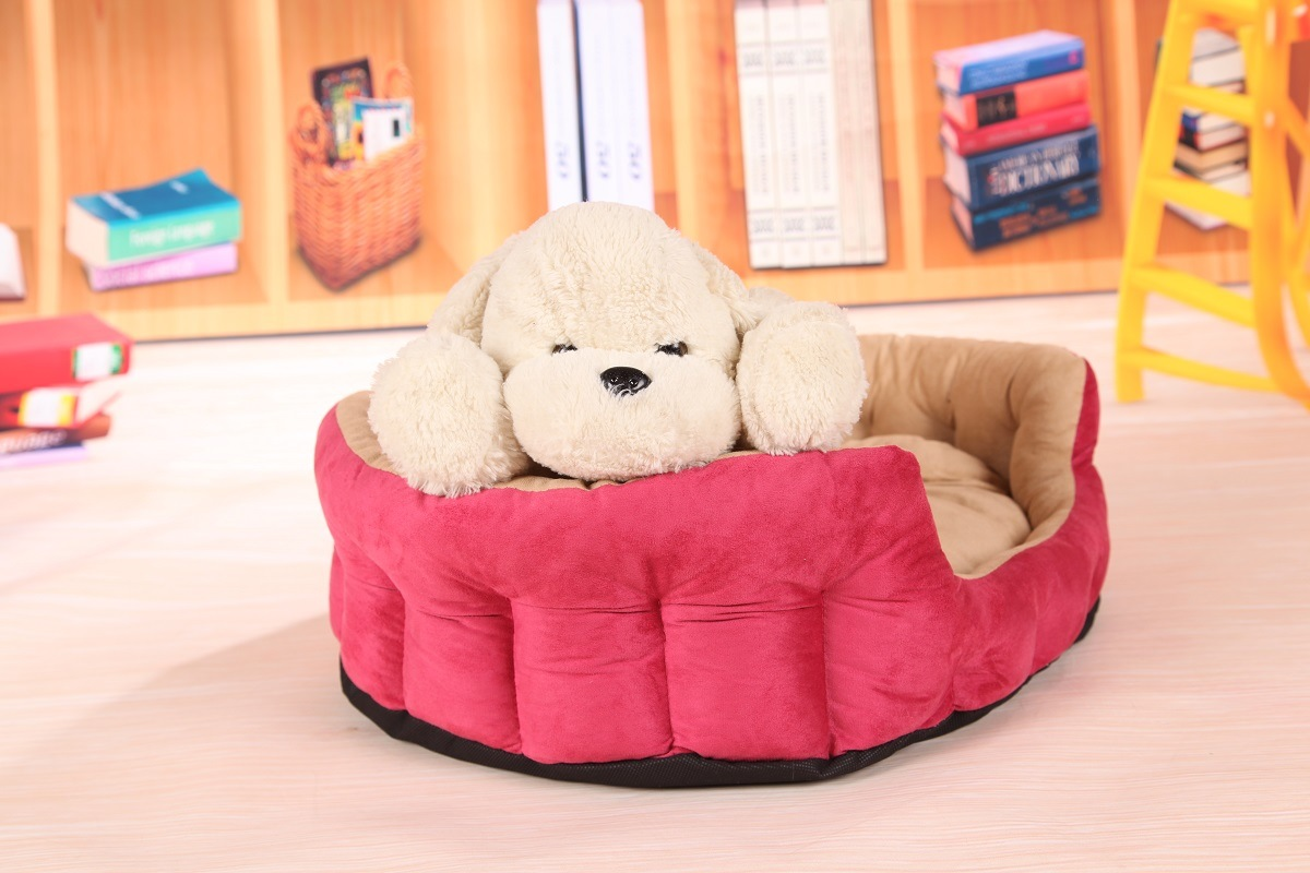 Three Colors Suede Nap Pet Bed & Dog Bed