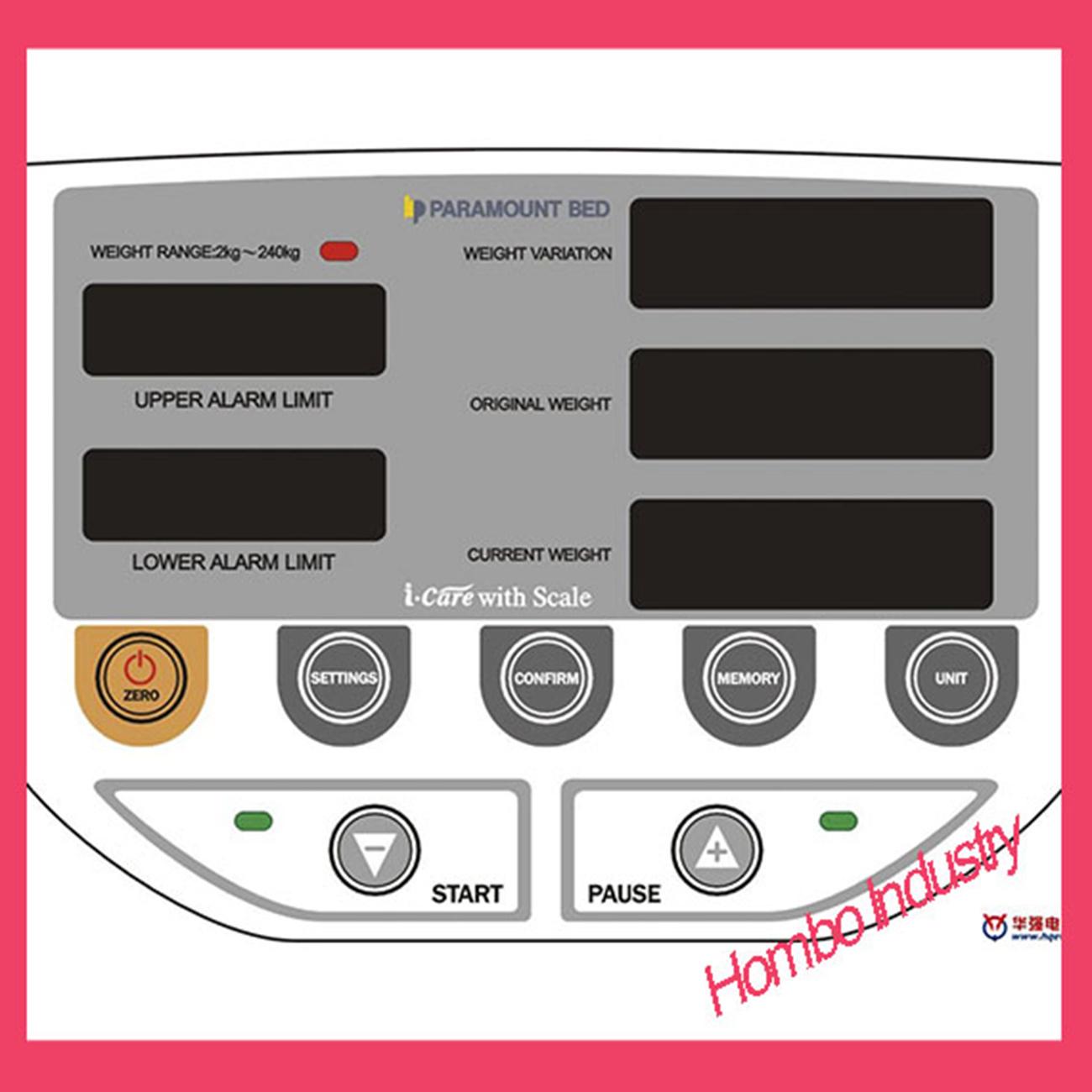 Buttons Embossing Membrane Keypad Control Keypad