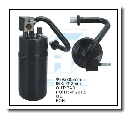Accumulator for Auto Air Conditioning (Steel) 89*205