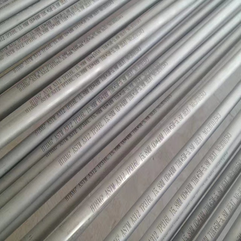 ASTM A312/A269 Large Diameter Stainless Steel Tube for Fluid Transport