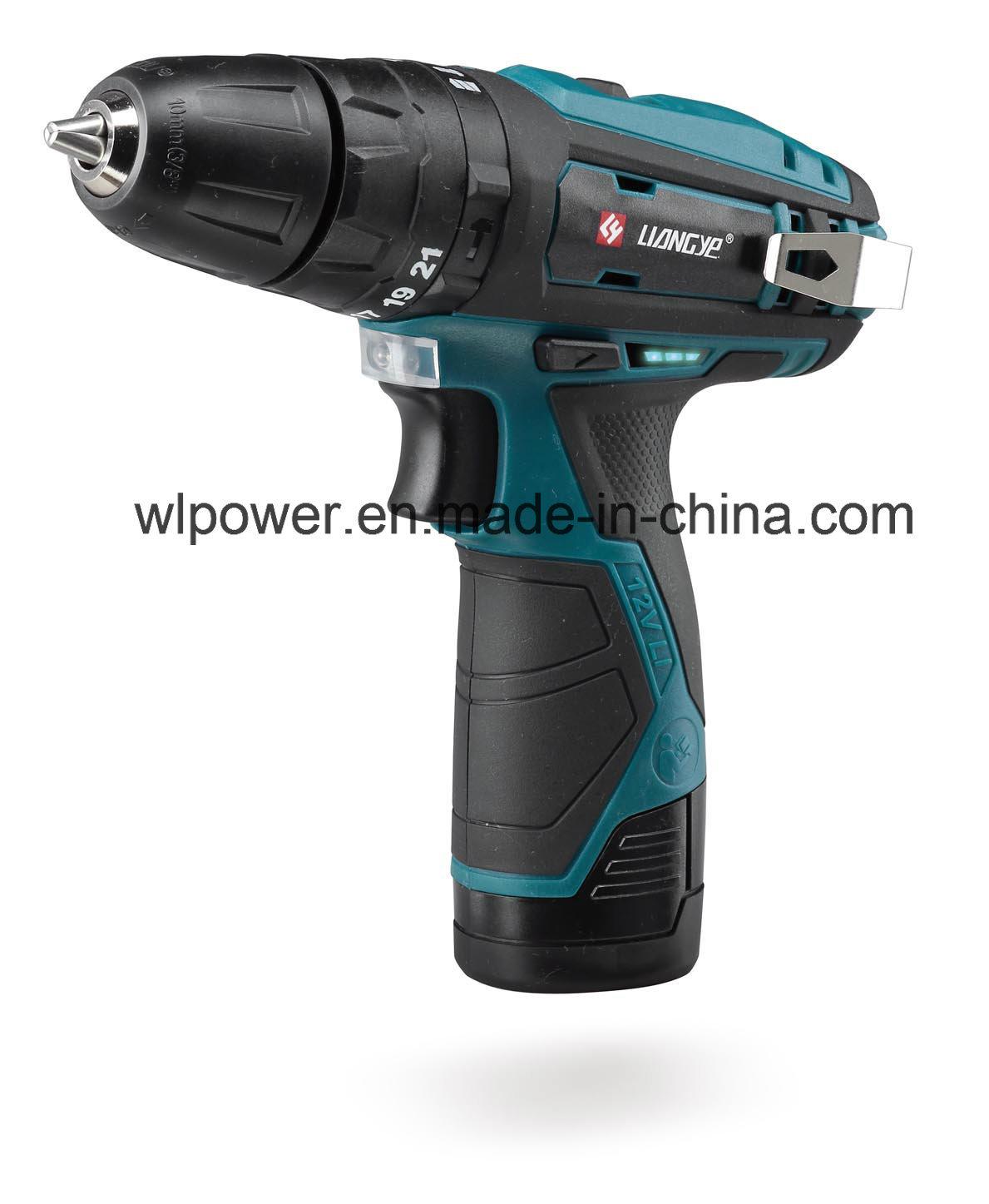 12V Cordless Hammer Drill DC Power Tool