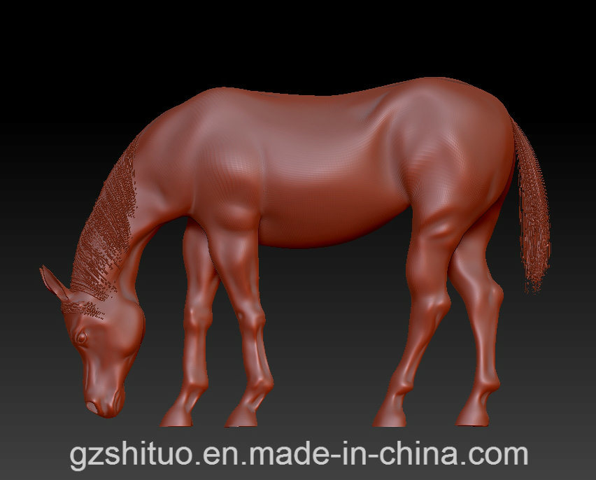 Sculpture Horse, Customers Can Customize The Material and Size of Sculpture, Our Company Specializes in Producing Metal Sculpture