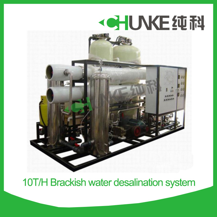 10t/H Commercial Drinking Water Purification Systems for Brackish Water
