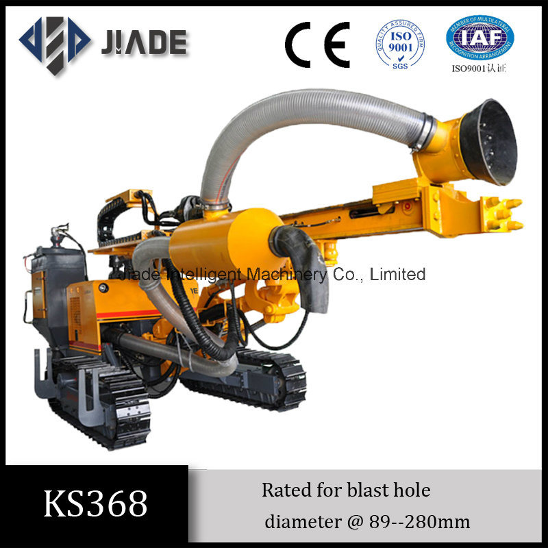 Ks368 Hydraulic DTH Large Blast Hole Drill Rigs