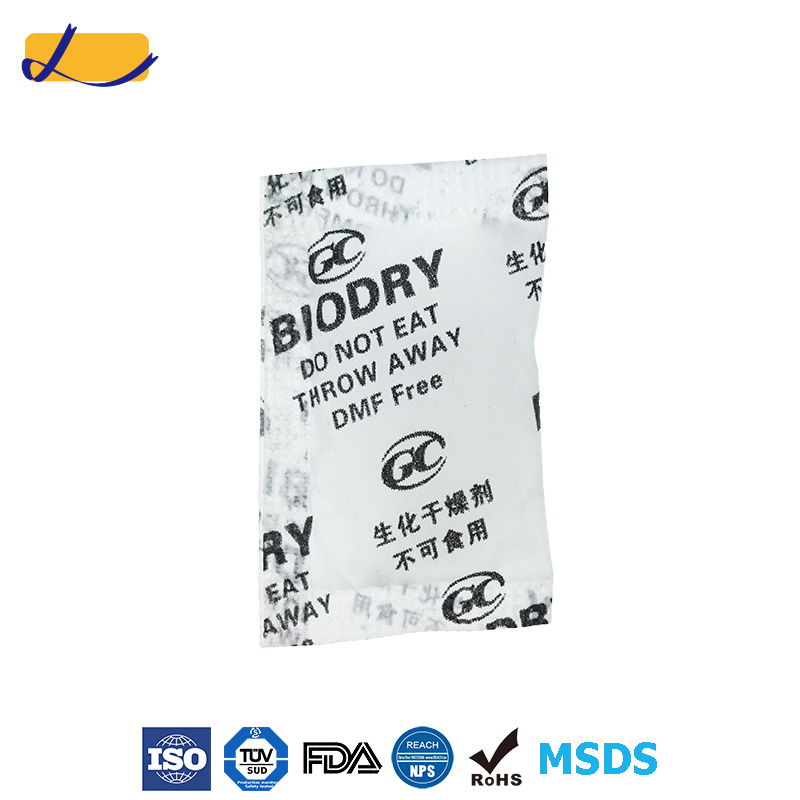 Bio Dry Desiccant Packet for India Garment Factory
