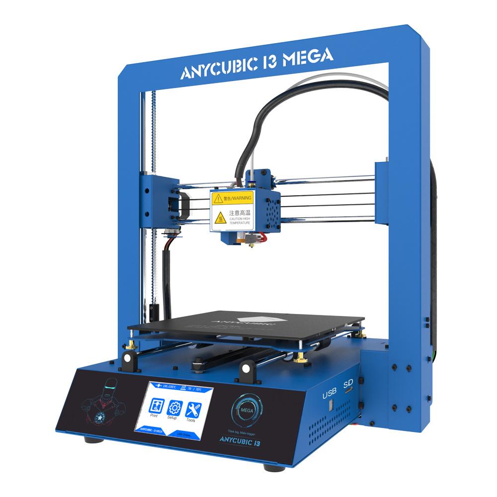 Mini 3D Printer - 5.9′′ X 5.9′′ X 5.9′′ Build Volume (Includes Non-Toxic PLA Filament, Printer Enclosure, Print Bed Tape, Cables & Power Ad