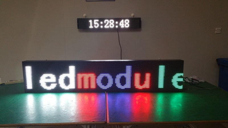 P10 Moving Text High Brightness LED Sign/ LED Display Board/ LED Scrolling Message