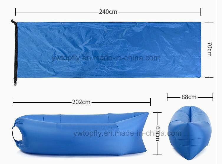 Comfortable Inflatable Lamzac Hangout Lazy Bag Air Sleeping Bag