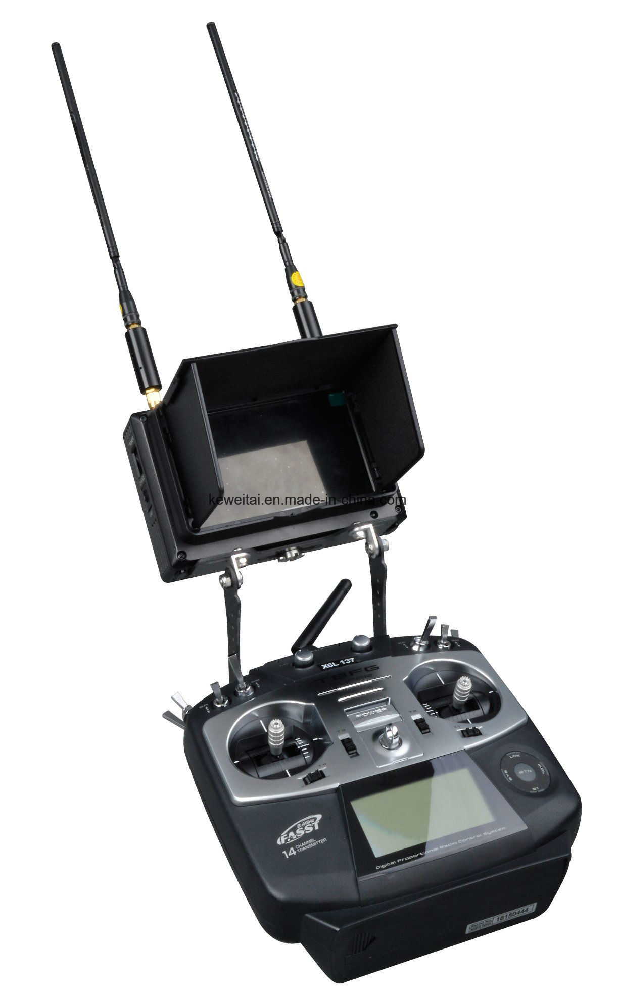 Fpv Cofdm Handheld Image Receiver Mounted on Drone Remote Controller