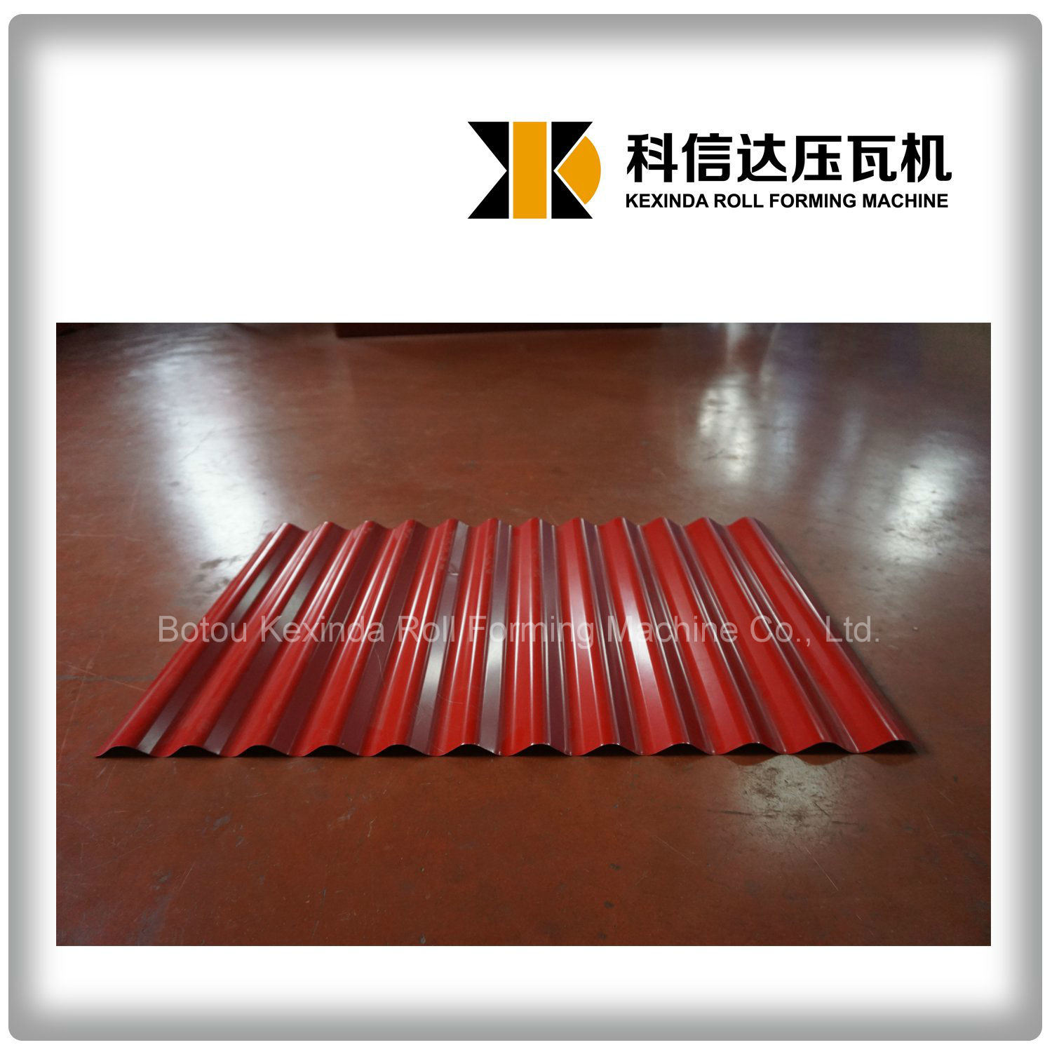 Kxd-836 Corrugated Tile Roll Forming Machine Roofing Making Machine