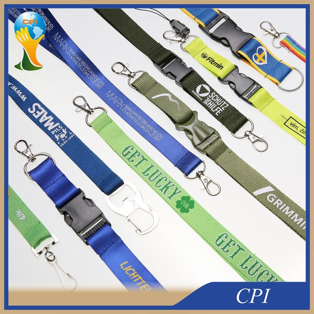 Promotion Custom Polyester Printing Lanyard