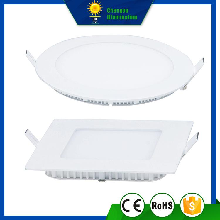 3W Round Slim LED Panel