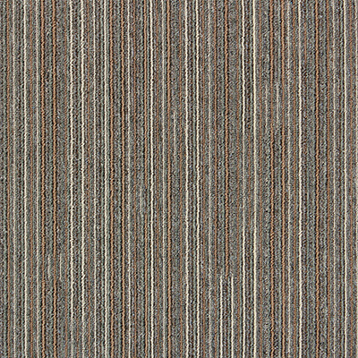 Impression - 1/10 Gauge Flat Loop Jacquard Flooring Carpet Tile with Bitumen Backing
