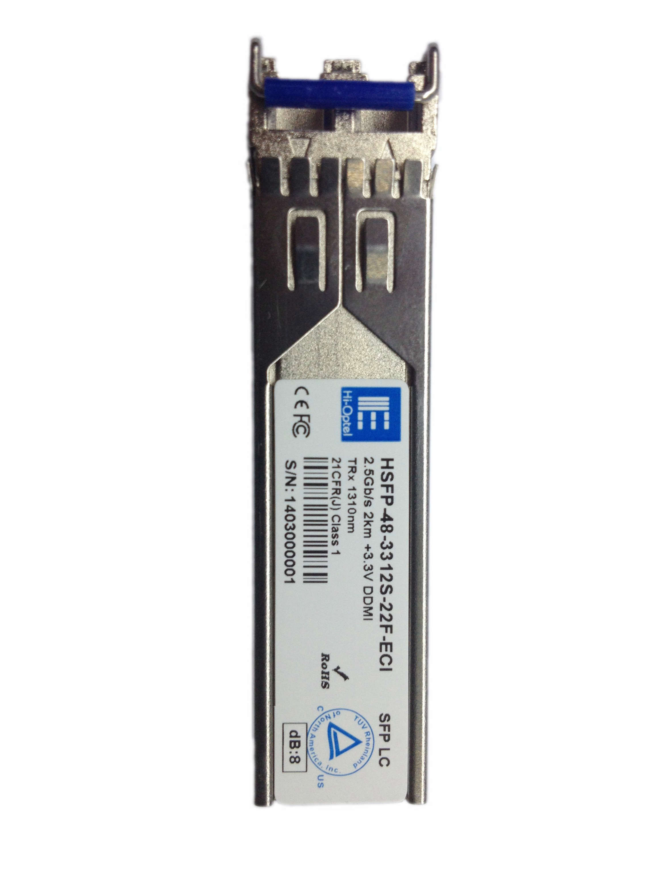 SFP 1.25GB/s CWDM 100km SM Duplex Optical Transceiver