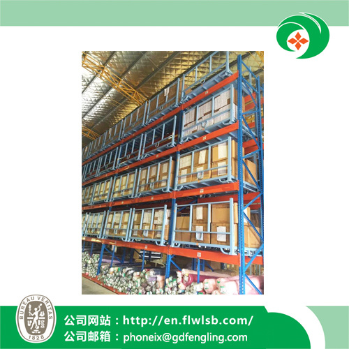 Foldable Stacking Rack for Storage Goods