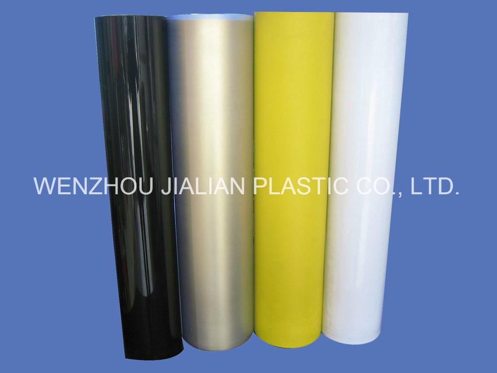 Rigid PVC Black Matte Sheet for Blister Packaging
